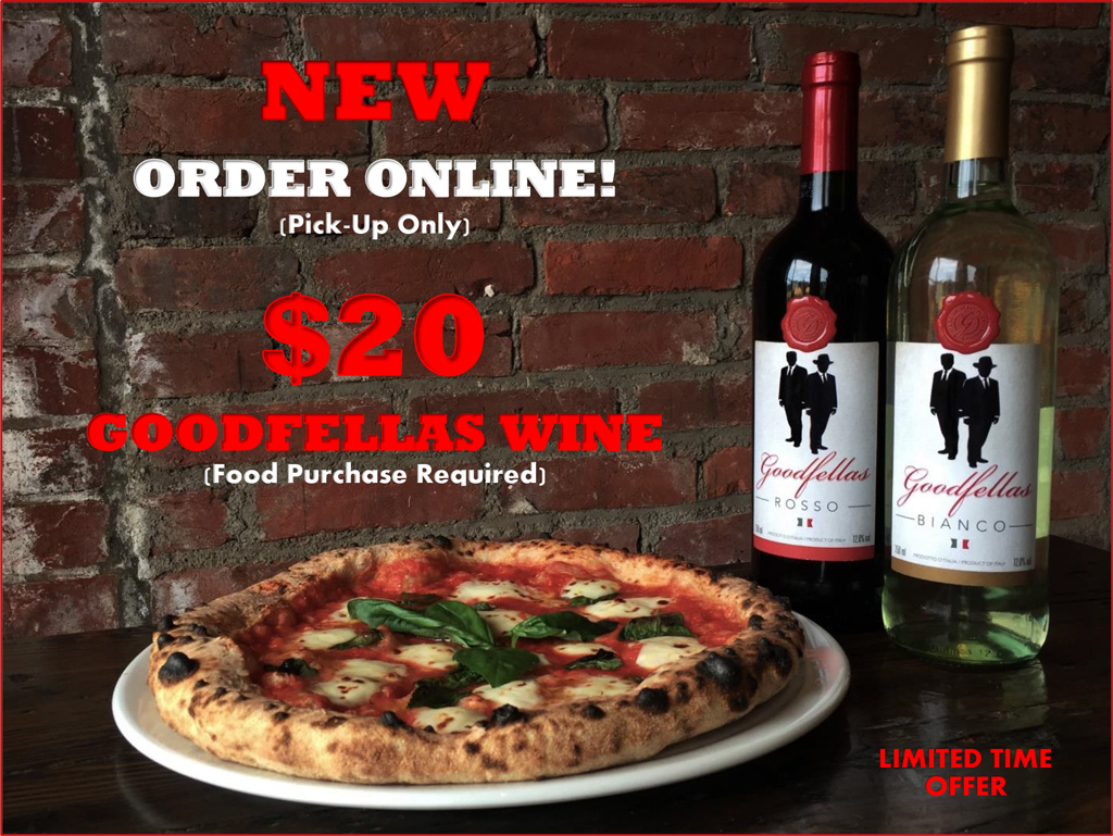 Order Online for $20 Wine